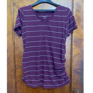 Striped Maternity T-Shirt